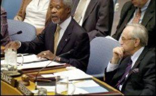 """Le Conseil de sécurité a adopté dimanche une déclaration dans laquelle il """"déplore fortement la perte de vies innocentes"""" dans le bombardement israélien sur Cana (Liban), sans toutefois le condamner, les Etats-Unis s'y étant opposés, et appelle """"à la fin des violences""""."""
