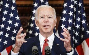 A Philadelphie, Joe Biden a promis le 2 juin 2020 de s'attaquer au «racisme institutionnel» après la mort de George Floyd.