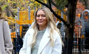 L'actrice Hilary Duff