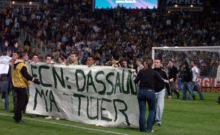 Fin de match houleuse le 19 mai 2007 à la Beaujoire.