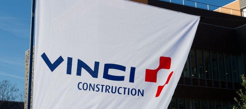 Logo de la société Vinci (photo d'illustration).