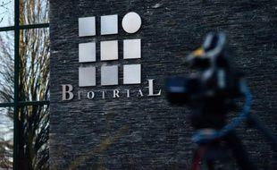 Le siège du laboratoire Biotrial à Rennes le 16 janvier 2016