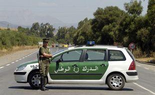 Un policier algérien (image d'illustration).