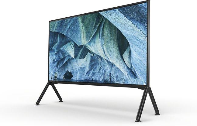 Des téléviseurs 8K XXXL avec des images de 7680 x 4320 pixels.