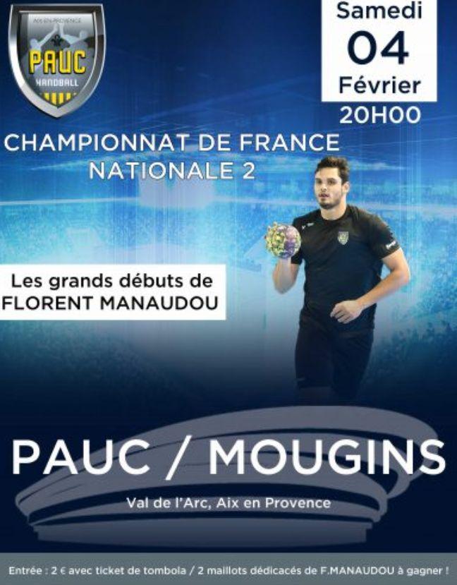 L'affiche pour les débuts de Florent Manaudou.