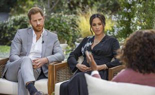 Le prince Harry et Meghan Markle en interview confession avec Oprah Winfrey