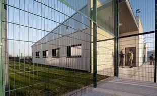 Le centre de rétention administrative de Metz-Queuleu, le 8 janvier 2009