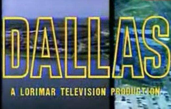 Capture écran du générique de la série «Dallas» diffusée initialement sur CBS