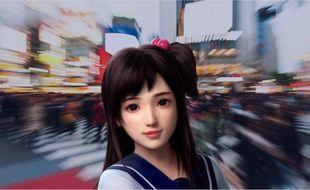 Xiaoice, développé par Microsoft. Illustration