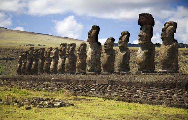 Impérieux et majestueux, les Moaïs veillent jalousement sur les trésors de l'île de Pâques.