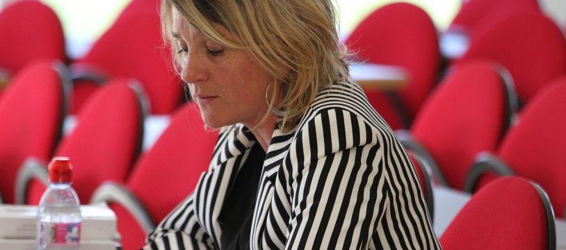 Monika Salmon-Siama, enseignante-chercheuse et auteure de plusieurs livres consacrés à l'émigration polonaise.
