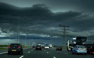 L'autoroute A2 entre Utrecht et Amsterdam, le 23 juin 2016.