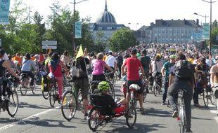 La vélo parade de Nantes