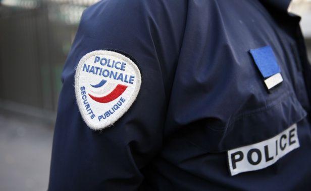 Illustration: police, un policier français en 2014.