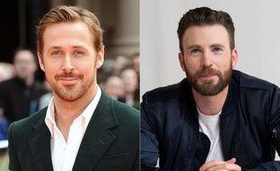 Ryan Gosling et Chris Evans, prochaines têtes d'affiche de Netflix