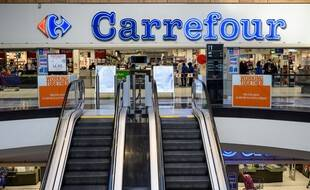 Image d'illustration d'un magasin Carrefour.