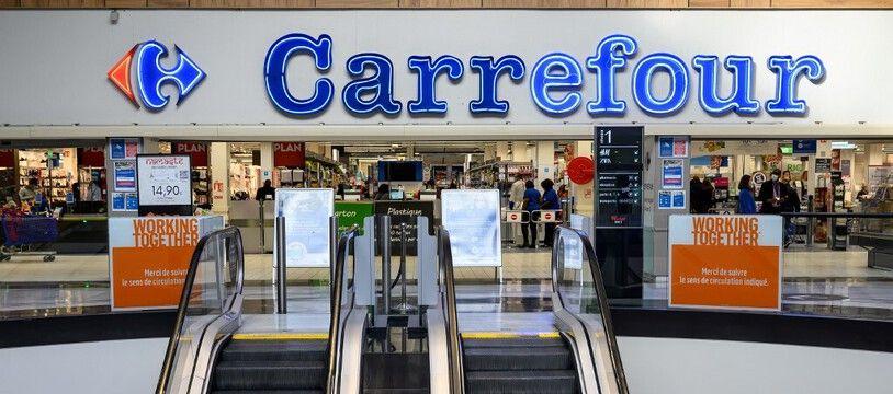 Image d'illustration d'un magasin Carrefour.