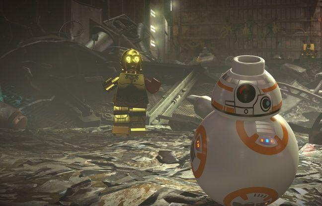 C3PO et BB-8 le choc des époques pour un jeu qui s'adresse aux enfants mais aussi à leurs parents.