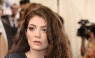 La chanteuse Lorde au Met Gala