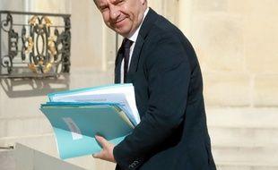 Le ministre de la Justice Jean-Jacques Urvoas au Palais de l'Elysée, à Paris, le 23 juillet 2016