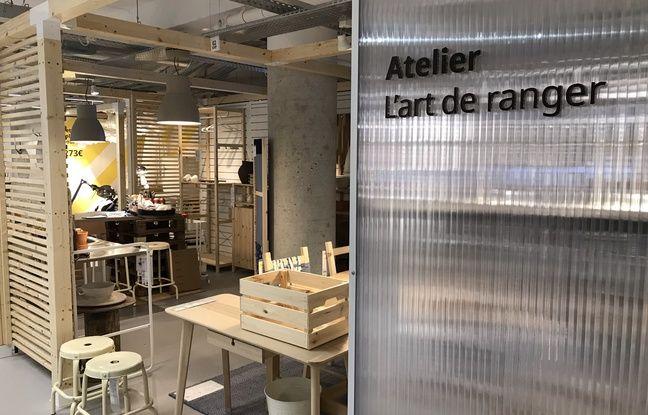 Voilà à quoi ressemble le nouvel Ikea la Madeleine qui ouvre ce lundi au coeur de Paris