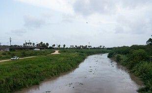 Miguel Aleman est située sur le Rio Grande. (illustration)