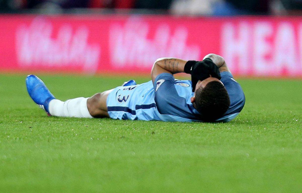 Gabriel Jesus s'est blessé et pourrait manquer la fin de la saison. – James Marsh/BPI/Shutter/SIPA