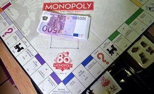 Illustration du jeu Monopoly.