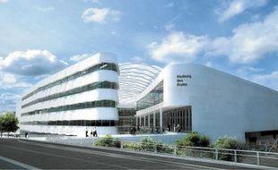Le projet de centre commercial à Lille-Sud.