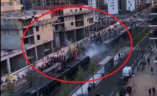 Des affrontements ont eu lieu à Bordeaux