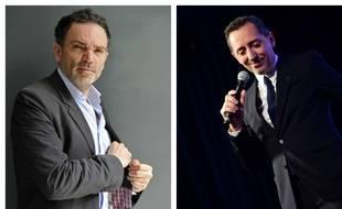 Yann Moix et Gad Elmaleh.