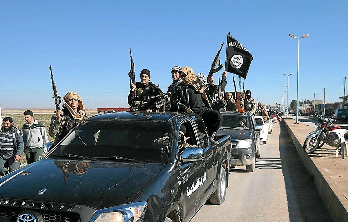 Photo de propagande de combattants djihadistes en Syrie, publiée le 4 mai. – Non crédité / AP / Sipa