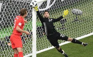 Harry Kane a déjà ouvert le score pour les Anglais.