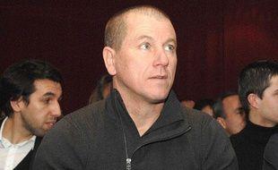 L'ancien gardien de but de Marseille et Bastia, Pascal Olmeta, à Paris le 26 janvier 2012.