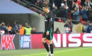 Cristiano Ronaldo, le 1er novembre 2017 à Wembley.