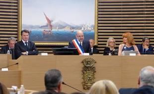 Lors de la séance du conseil municipal du 13 juin 2016