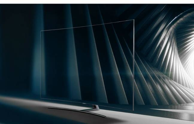 Le monde Ambiant permet à certains téléviseurs QLED de Samsung de s'effacer dans leur décor.