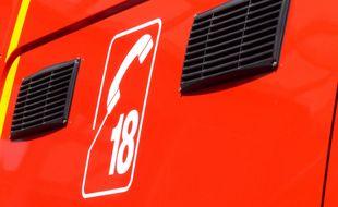 Une trentaine de pompiers est intervenue après l'accident. Illustration.