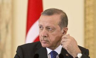 Le Président turc Recep Tayyip Erdogan le 1er avril 2015.