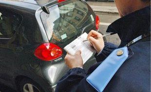 Les automobilistes doutent de l'efficacité d'une amende de stationnement à 20€.