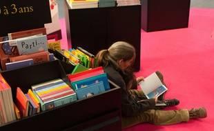 Salon du livre et de la presse jeunesse de Montreuil, le 3 décembre 2015.