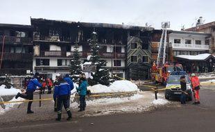 Un incendie a fait deux morts à Courchevel