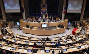 L'hémicycle du conseil régional de Provence-Alpes-Côte-d'Azur, en 2015. (archives)