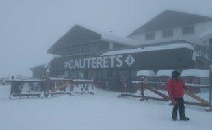La station de Cauterets, dans les Hautes-Pyrénées (Illustration).