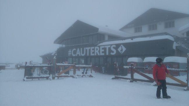 La station de Cauterets, dans les Hautes-Pyrénées, le 2 avril 2017.
