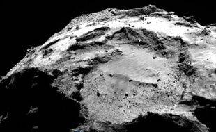 Localisation de Philae sur la comète Tchouri.