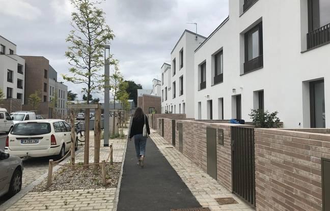 Déjà 160 logements ont été livrés quartier Mellinet