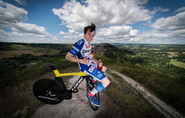 Tarn: Il tient 24 heures en équilibre sur son vélo sans mettre un pied à terre et bat un record du monde