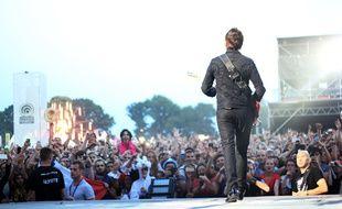 Le concert de Muse, ici en 2015 lors de la 24e édition des Vieilles Charrues.