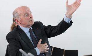 Jacques Toubon, Defenseur des Droits, Paris-02/05/2018.
